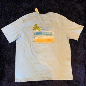NWT Tommy Bahamas Palm Conditions T Shirt